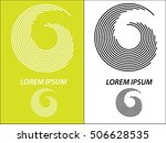 logo icon design and business... | Shutterstock .eps vector #506628535