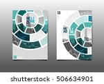 annual report brochure flyer... | Shutterstock .eps vector #506634901