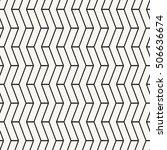 vector seamless pattern. modern ...   Shutterstock .eps vector #506636674