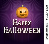 happy halloween | Shutterstock .eps vector #506641225