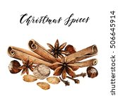 Christmas Spices  Cinnamon ...