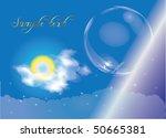 blue background.vector | Shutterstock .eps vector #50665381