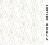 vector seamless pattern. modern ... | Shutterstock .eps vector #506663095