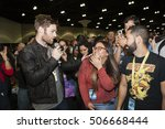 stan lees los angeles comic con ...   Shutterstock . vector #506668444