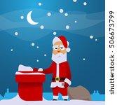 Sad Santa On Rooftop ...