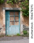 Old French Cottage Door