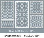 wedding invitation  greeting... | Shutterstock .eps vector #506690404