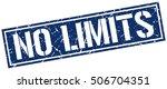 no limits. grunge vintage no... | Shutterstock .eps vector #506704351