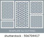 wedding invitation  greeting... | Shutterstock .eps vector #506704417