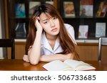 portrait of thai adult student... | Shutterstock . vector #506733685