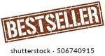 bestseller. grunge vintage... | Shutterstock .eps vector #506740915
