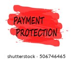 payment protection vector card | Shutterstock .eps vector #506746465