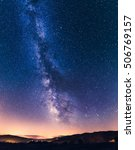 The Summer Milky Way  Pyrenees