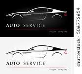 auto services logo. automotive... | Shutterstock .eps vector #506773654