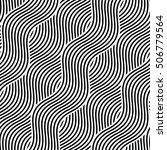 vector seamless texture. modern ... | Shutterstock .eps vector #506779564