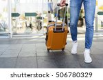close up of legs of young man... | Shutterstock . vector #506780329