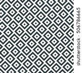 skewed seamless monochrome...   Shutterstock .eps vector #506786665