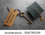 vocational training key tag