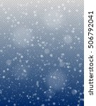 Seamless Vector White Snowfall...