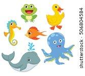 vector illustration of a... | Shutterstock .eps vector #506804584