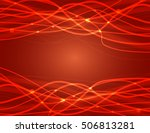 abstract red background. vector ...