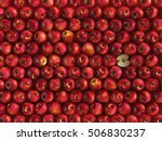 Red Apples Background. 3d...
