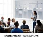 business development innovation ...   Shutterstock . vector #506834095
