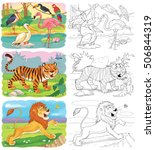 Small Set Of Coloring Pages...
