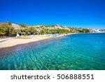 camel beach in bitez  bodrum ... | Shutterstock . vector #506888551