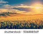 spring summer background  ... | Shutterstock . vector #506888569