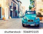 olbia  italy   july 10  2016 ... | Shutterstock . vector #506893105