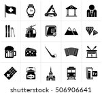 black switzerland industry and... | Shutterstock .eps vector #506906641