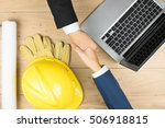 the merchant and the... | Shutterstock . vector #506918815