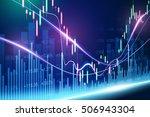stock exchange concept  vector... | Shutterstock .eps vector #506943304