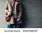 men's casual outfits standing... | Shutterstock . vector #506948059