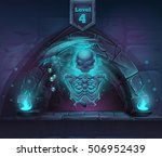 arch magic in next 4th level.... | Shutterstock .eps vector #506952439