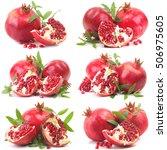 pomegranate fruit   Shutterstock . vector #506975605