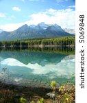 mountain reflections  lake... | Shutterstock . vector #5069848