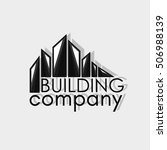 building company logotype. real ... | Shutterstock .eps vector #506988139