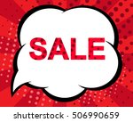 big winter sale poster with...   Shutterstock .eps vector #506990659