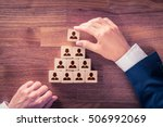 human resources and corporate... | Shutterstock . vector #506992069