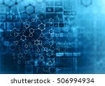 medical abstract background ....   Shutterstock . vector #506994934