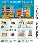 building constructor... | Shutterstock .eps vector #506996971