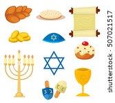 judaism church traditional... | Shutterstock .eps vector #507021517