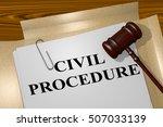 "3d illustration of ""civil...   Shutterstock . vector #507033139"
