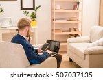 picture of european businessman ... | Shutterstock . vector #507037135
