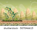 cartoon vector nature landscape ...