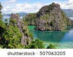 coron  philippines   october... | Shutterstock . vector #507063205