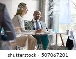 young businessman with...   Shutterstock . vector #507067201