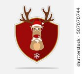 Merry Christmas Logo With...
